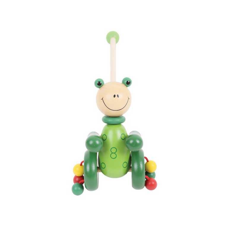 Tahací hračky - Jezdík - Žabka