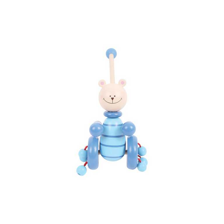 Tahací hračky - Jezdík - Modrý medvěd