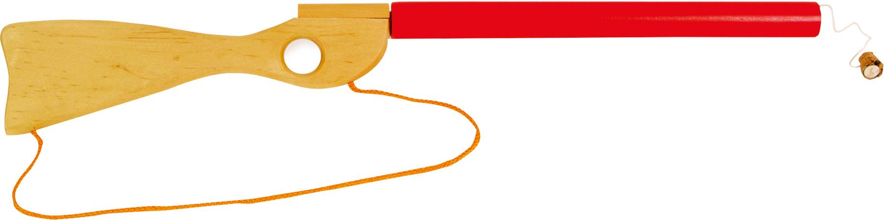 Dřevěné hračky pro kluky - Puška špuntovka