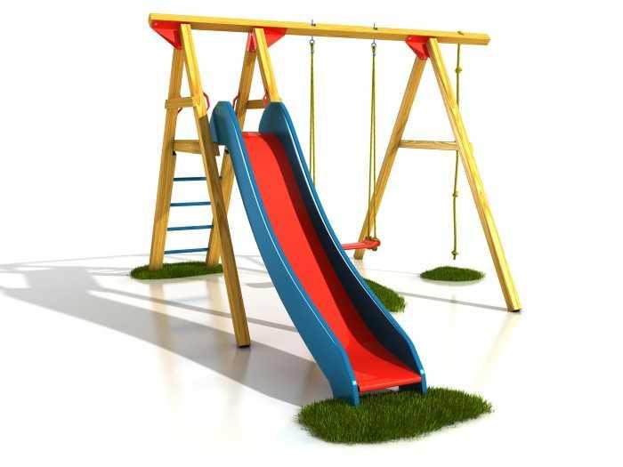 Dřevěné dětské hřiště - Stavebnice hřiště Čipera