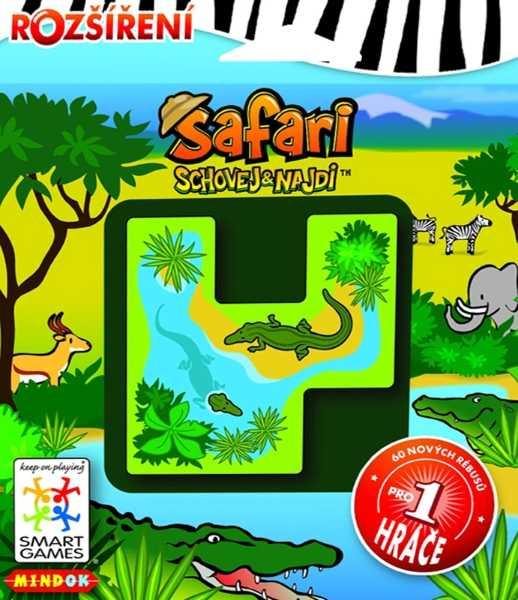 Hlavolamové smart hry - Safari schovej a najdi rozšíření